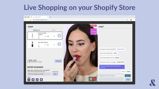 Live shopping on your Shopify store