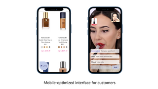 Mobile-optimized interface for customers