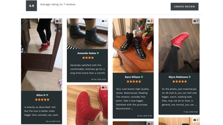 Review Widget On Product Page