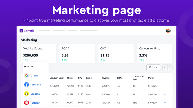 Marketing performance: discover your most profitable ad channels