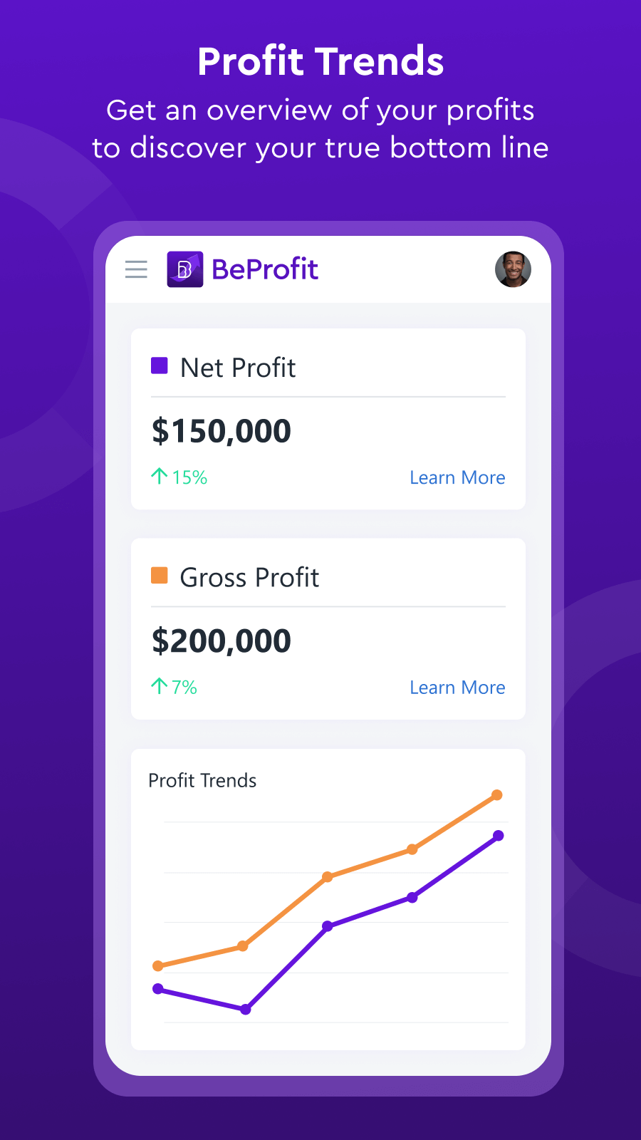 Get an overview of your profit to discover your true bottom line