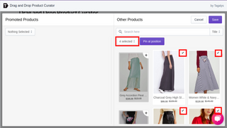 Promote multiple products