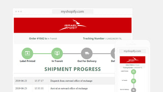 Branded Tracking Page