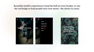 Craft the experience you want on mobile.