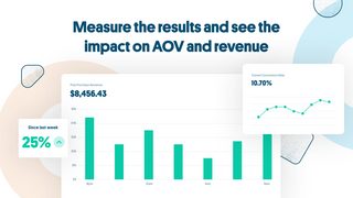 Measure the results and see the impact on AOV and revenue