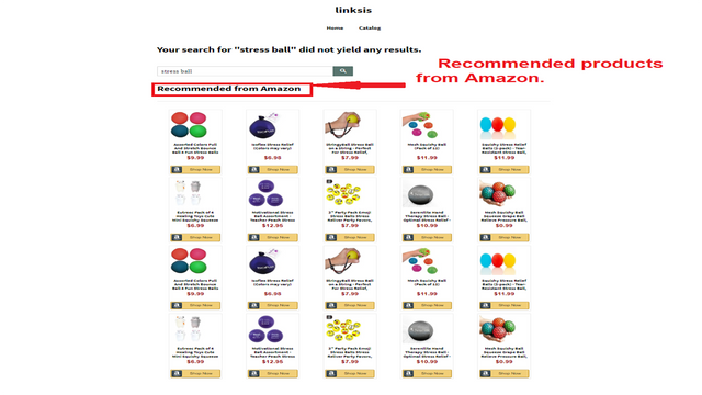Smart Search - Amazon recommended products