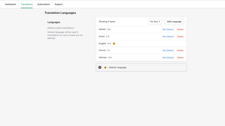 Translations made easy just setup and based on customer locale