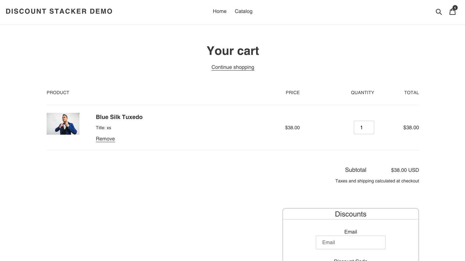 Cart Page 1