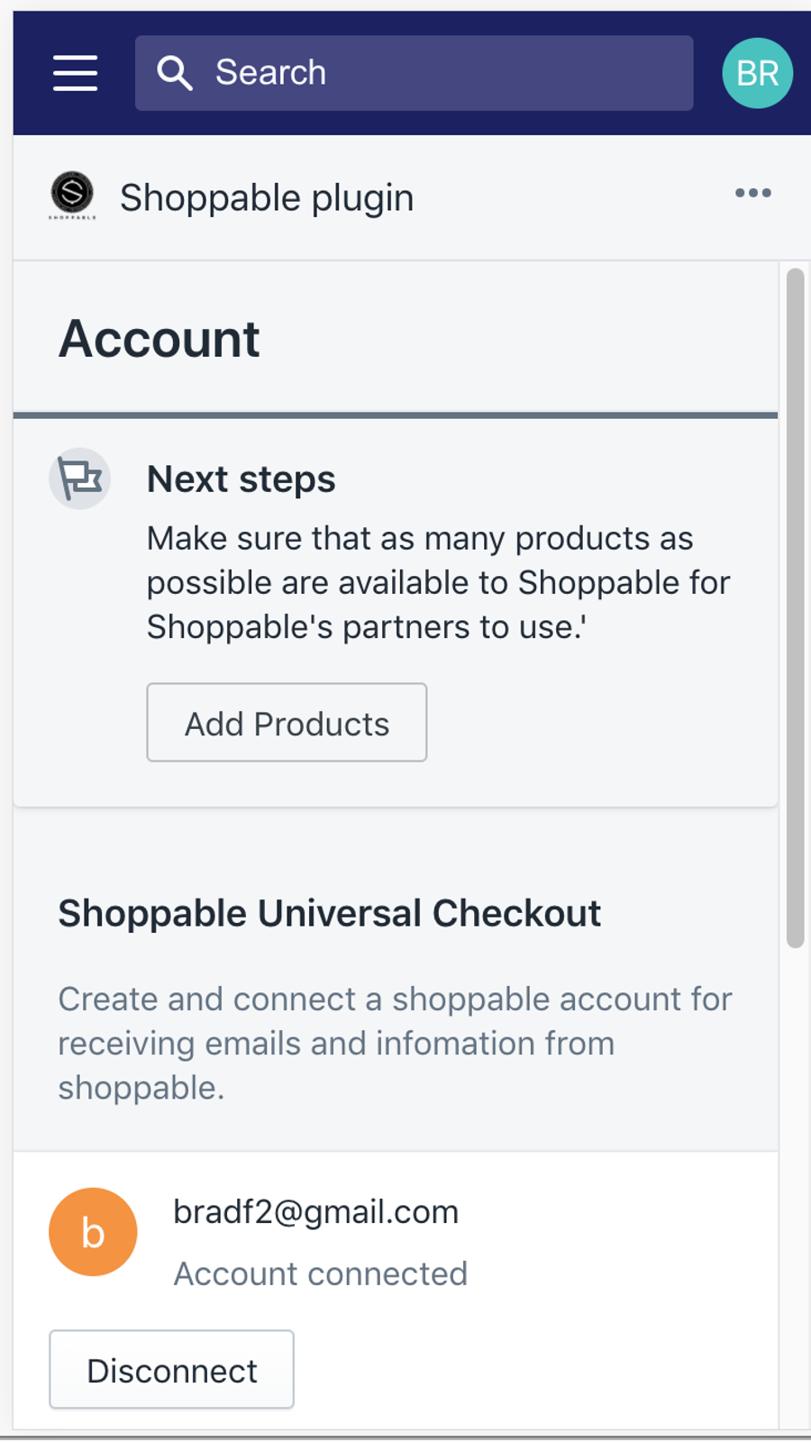 Connect with Shoppable®