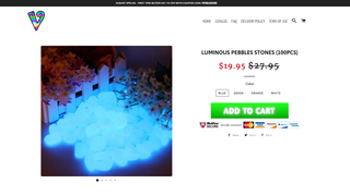 Storefront product page