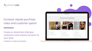 Increase repeat purchase and customer spend