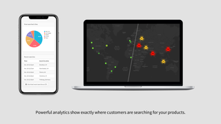 Useful analytics show customer searches on your store locator