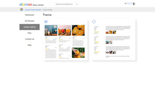 Atomee Product Reviews Theme Setting