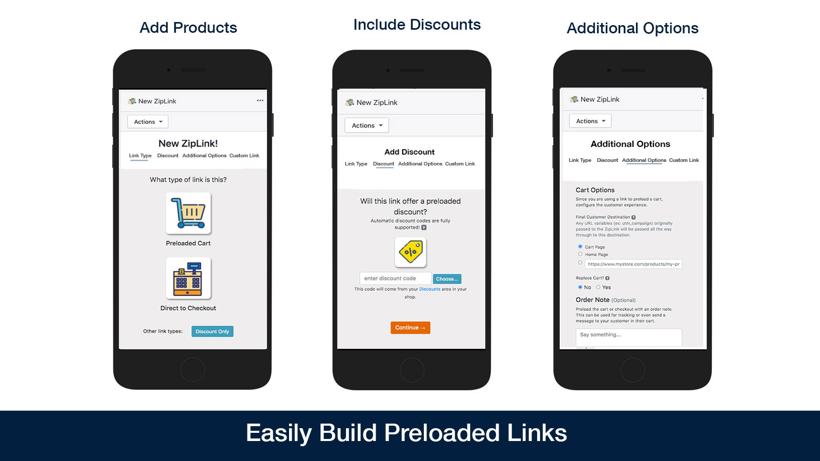 build permalinks quickly and easily direct to checkout