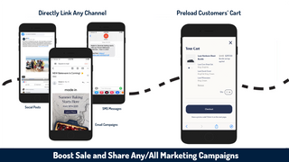 share ziplinks in any campaign and watch conversions rates grow
