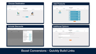 Build Direct to checkout links quickly and easily