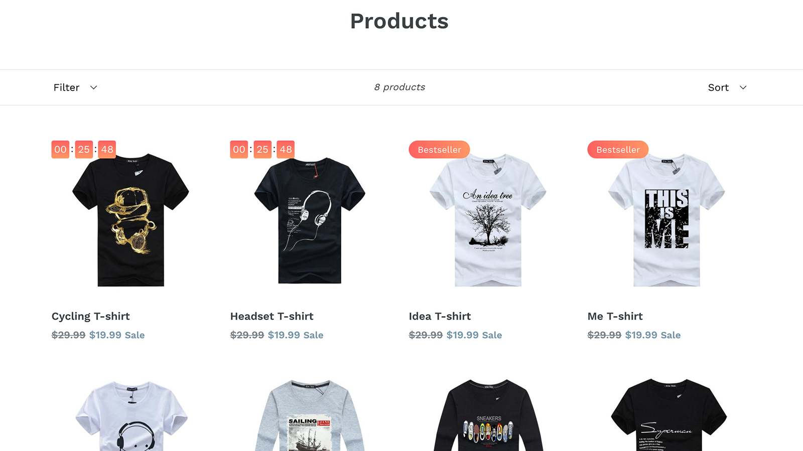 Shopify App Ultimate Sales Boost by Hextom on product page
