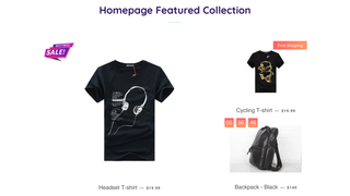 Shopify App Ultimate Sales Boost by Hextom on collection page