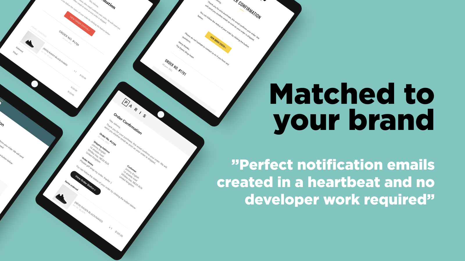 OrderlyEmails: Shopify email templates matched to your brand