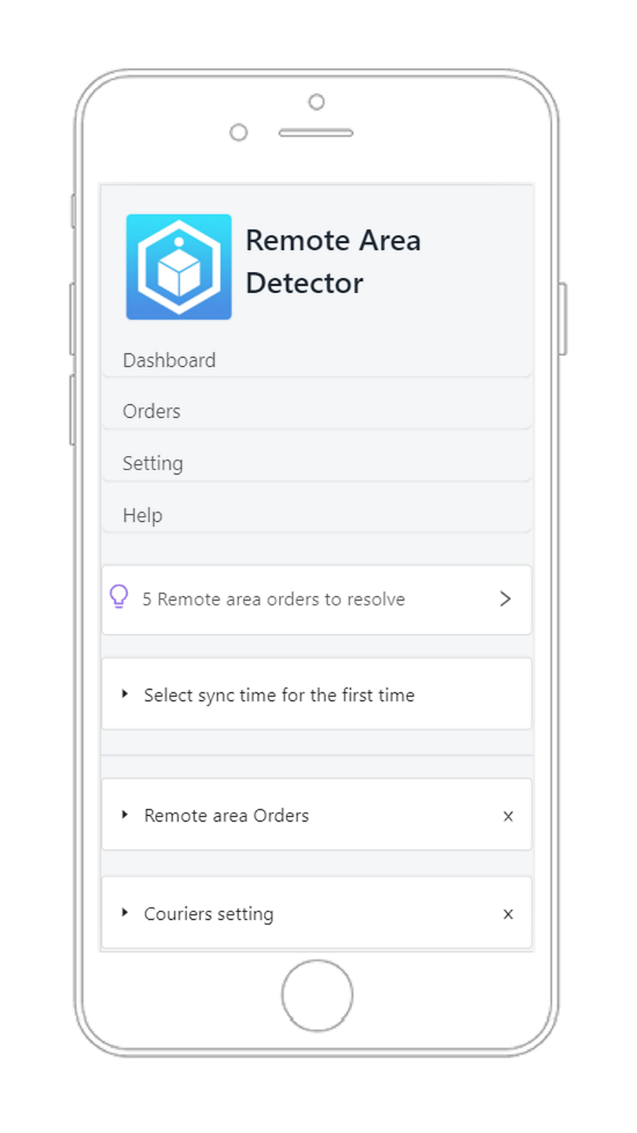 Dashboard page_Mobile