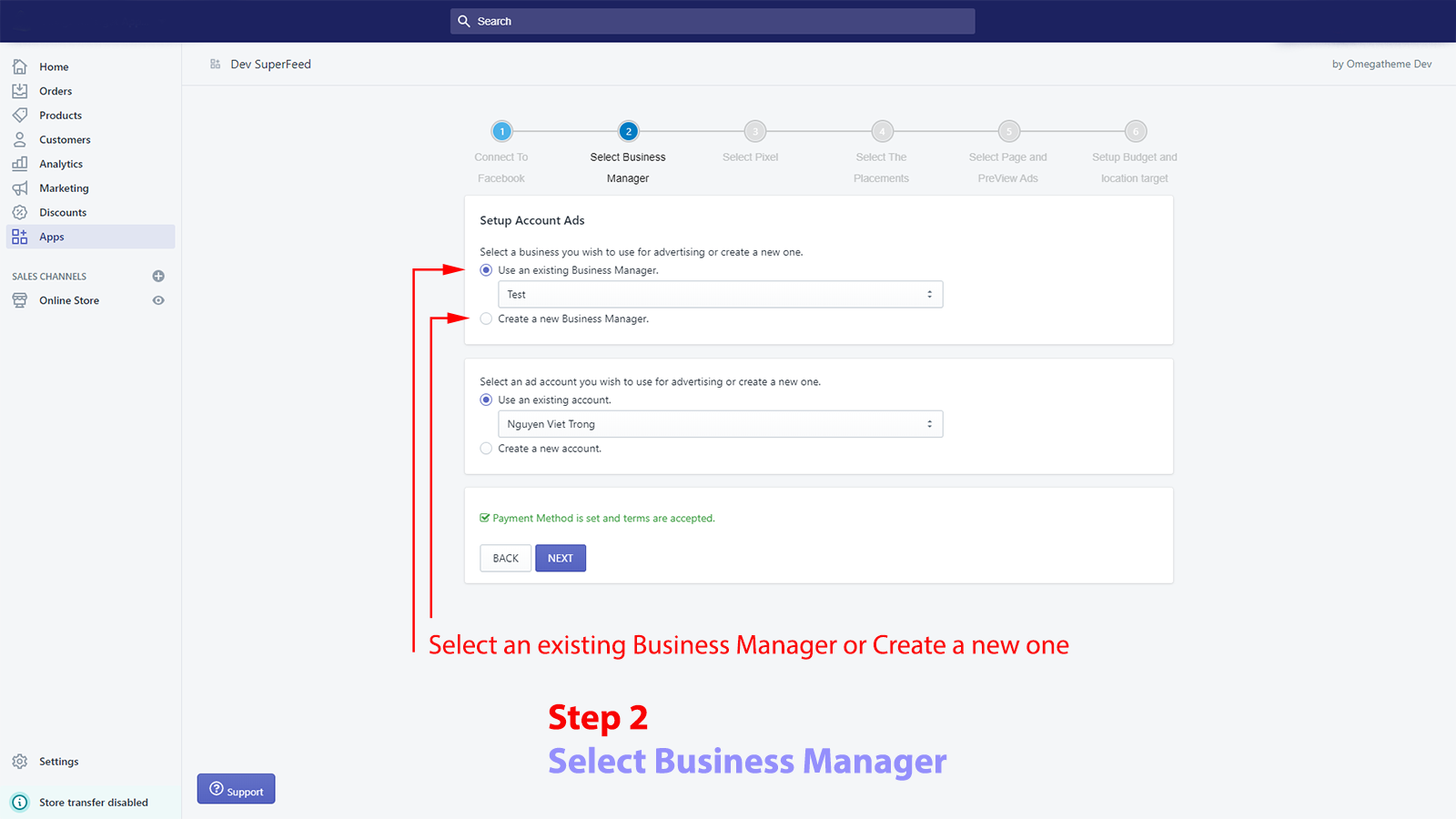 2-retarget-select-business-manager