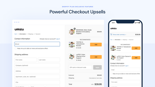 Powerful Checkout Upsells