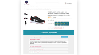 Questions & Answers in Product Detail Page
