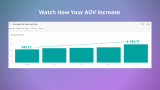 Watch How Your AOV Increase