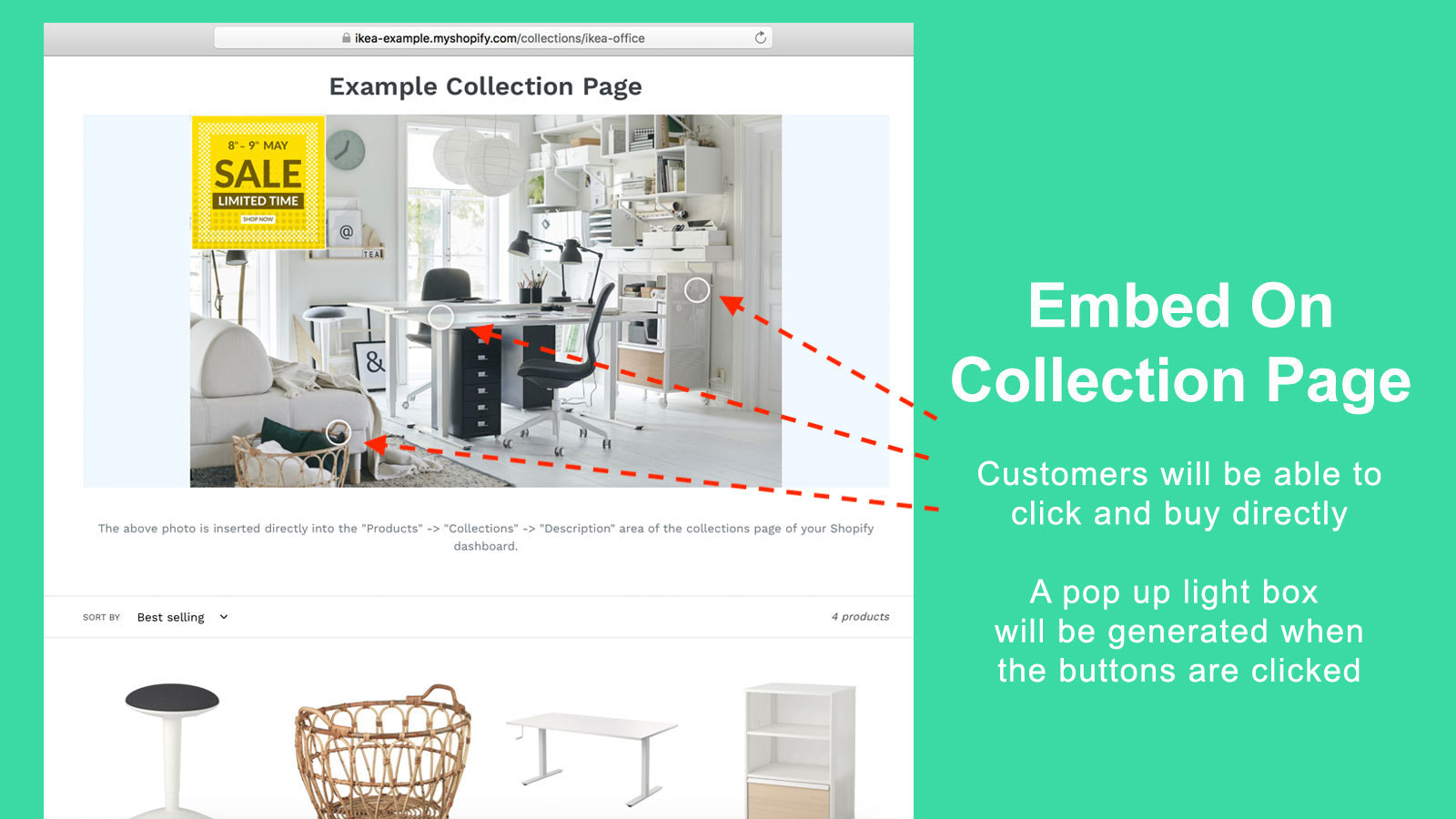 Embed on Collection Page