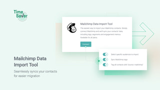 Mailchimp data import tool