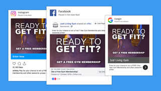 Integrate your campaigns with your social media and Google ads