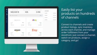 Manage all your channels from one simple dashboard.