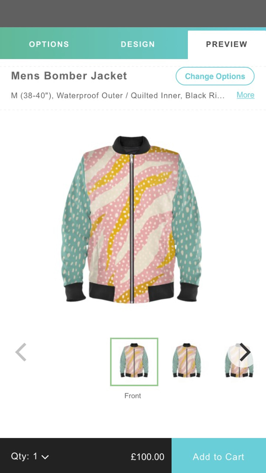 sell your own art on Bomber Jackets