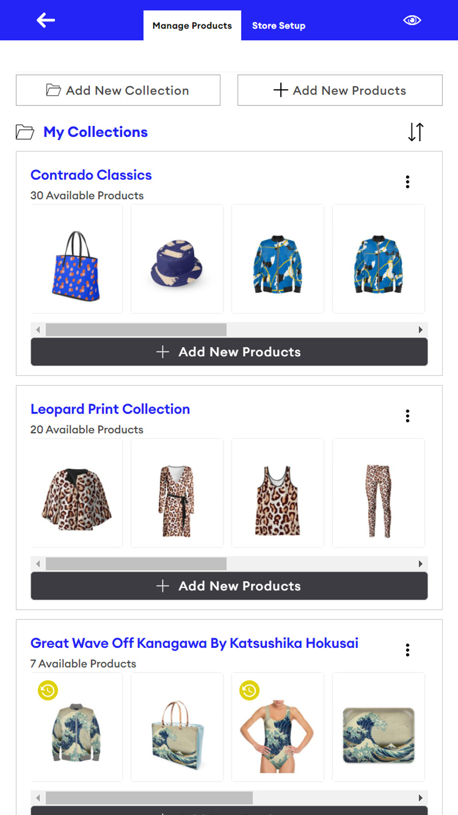 Design and sell tshirts, garments, homeware on our marketplace
