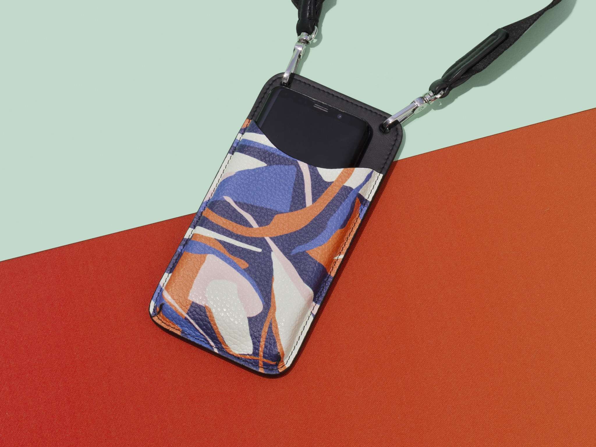 Dropshipping leather bags Phone Pochette