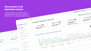 metrics dashboard summary of revenue profit cost trends customer