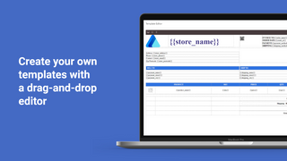 Create your own PDF Invoice with a drag-and-drop editor