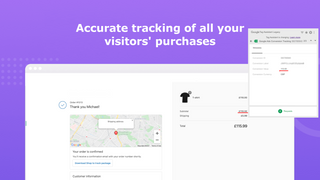 Accurate tracking of your visitors' purchases