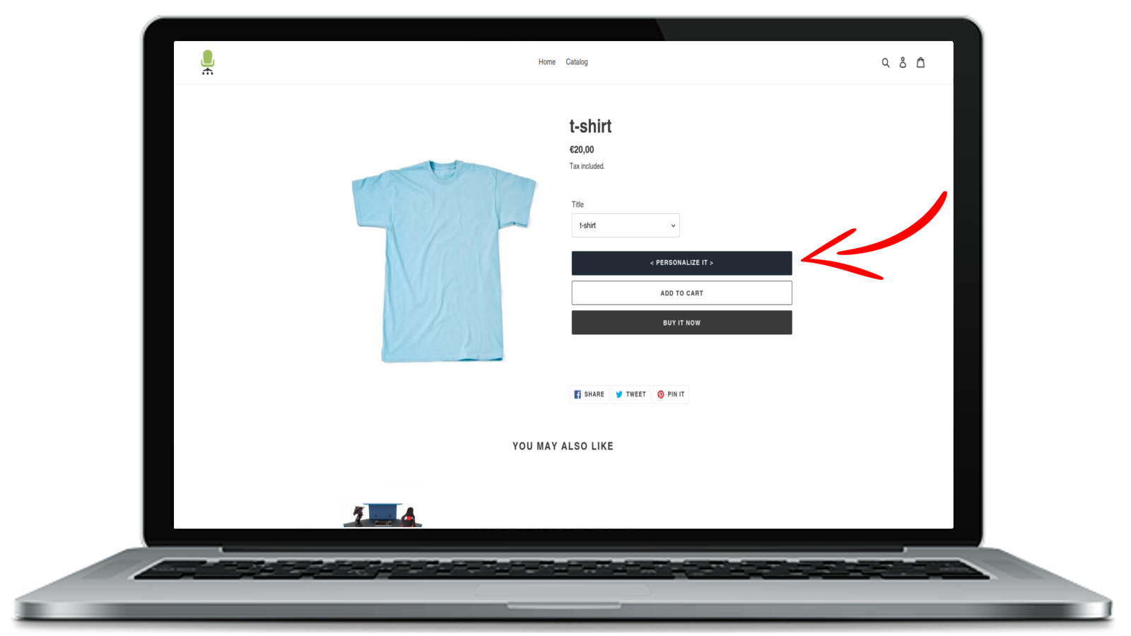 Access to the configurator