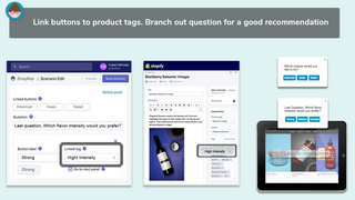 Link your existing product tags to choice buttons