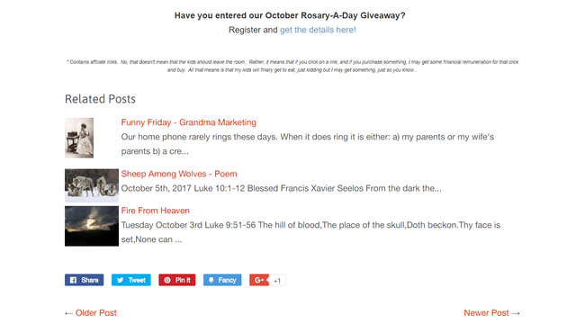 Shopify related blog posts example 1