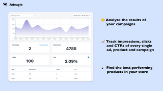 Track the results of your campaigns and boost the best ones