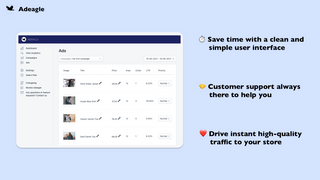 Drive instant high-quality traffic to your store