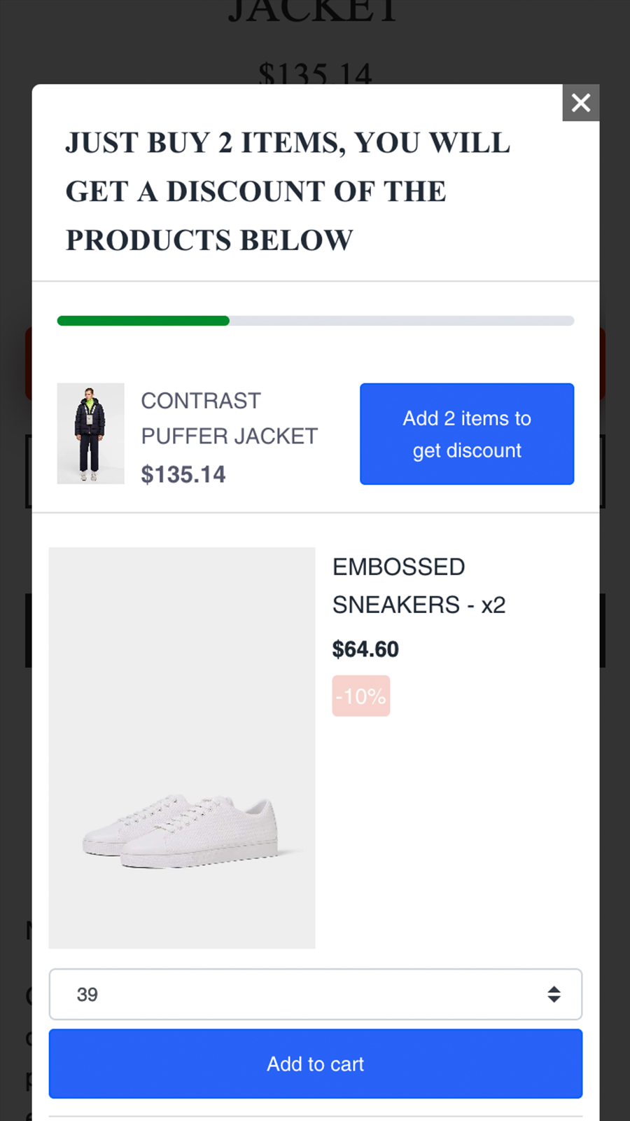shopify upsell app mobile 1