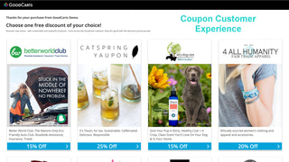 Customer Exper. - Pick Discount (Our Members Promote Your Store)