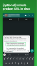 whatsapp click to chat button