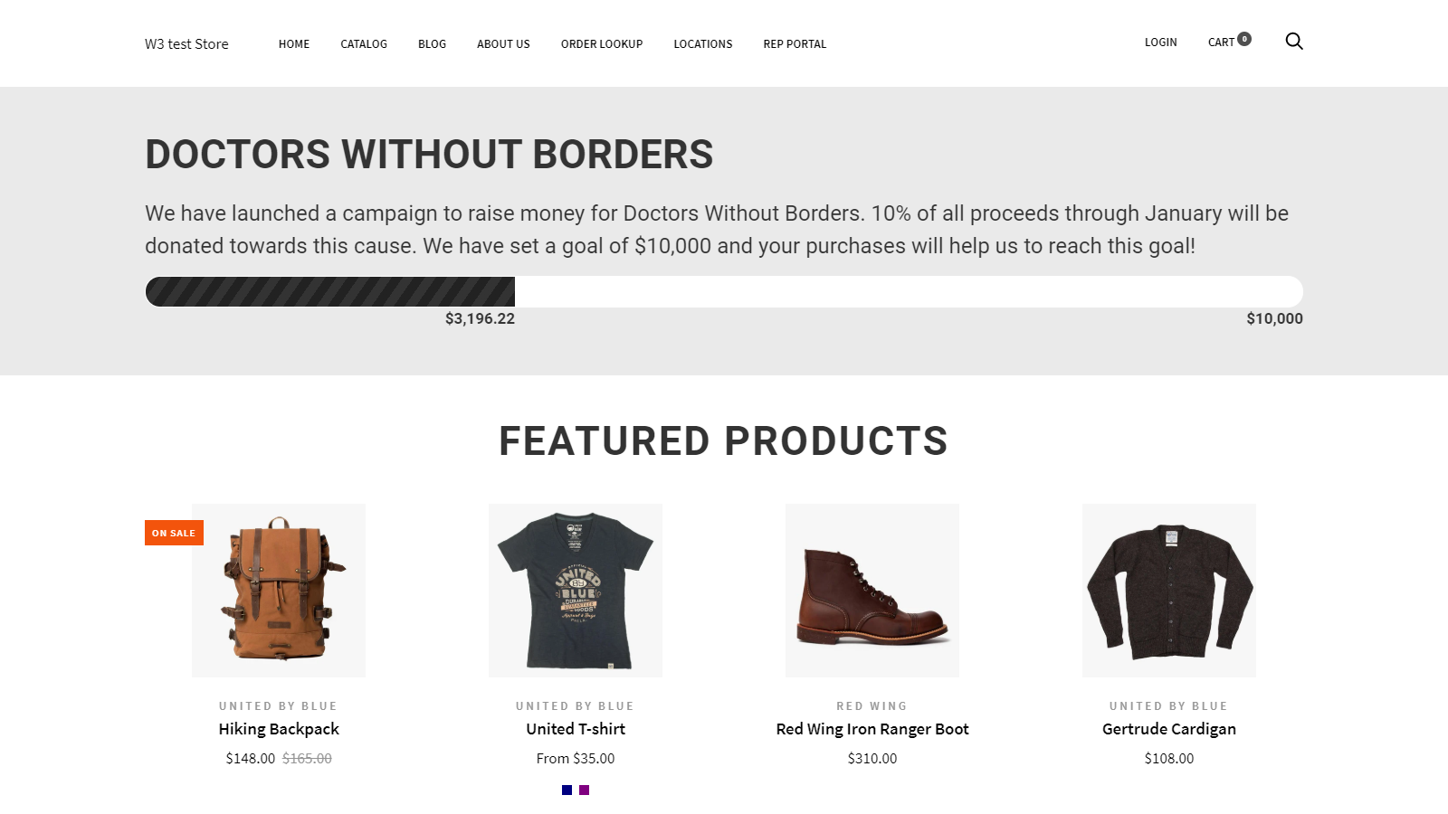 Front end Goal - Share The Love by W3 | W3Trends