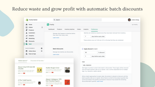 Reduce waste and grow profit with automatic batch discounts