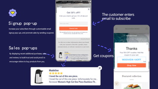 Popup increase your subscribers through customizable email