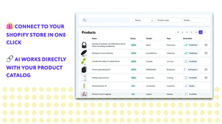 Connect with the catalog